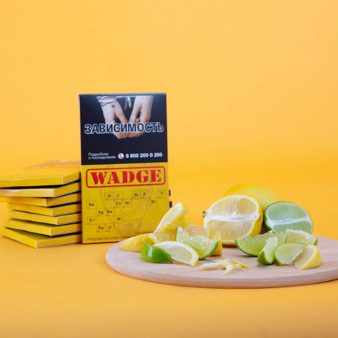 Табак Wadge Oxygen Lemon Lime 100 г