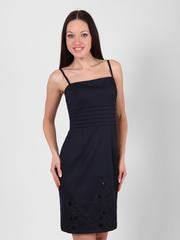 707-11277-1 платье синее