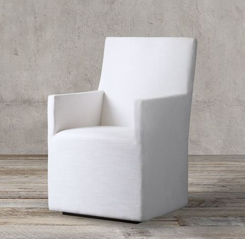 Ellison High-Back Fabric Track Armchair