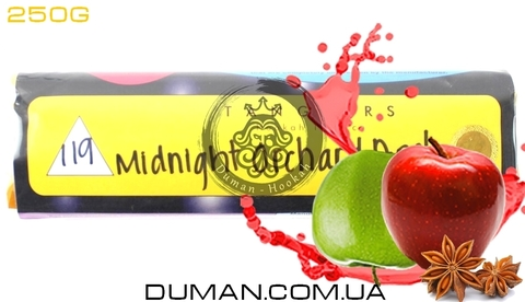 Табак Tangiers Midnight Orchard Apple T119 (Танжирс Пряное Яблоко)  Noir 250г