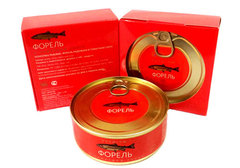 Форель в томатном соусе премиум Royal Product, 240г