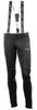 Утеплённый лыжный костюм Nordski Active Black-Lime Premium Black мужской