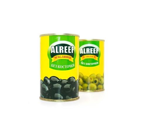 Оливки черные Al Reef, 280 г