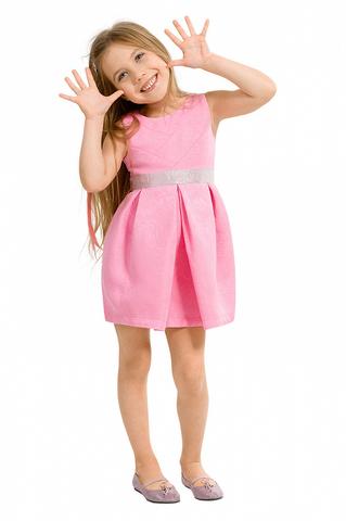 Pelican GWDV3014 Платье для девочек нарядное сиреневое