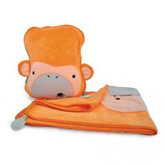 детский плед с подушкой SNOOZIHEDZ