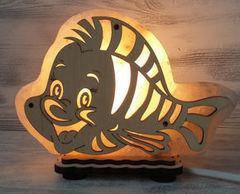 Солевая лампа Рыбка 1,3 кг