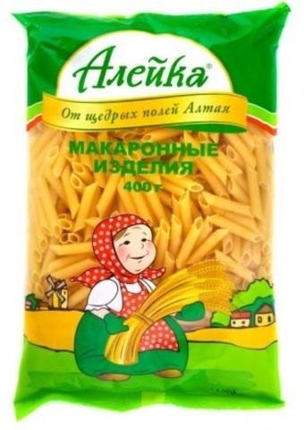 """Макаронные изделия """"Алейка"""" перья 400 г"""