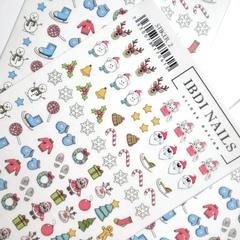 Stiker наклейка ibdi nails 02