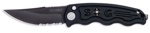 Купить Складной нож SOG Мод. SOG-TAC MINI AUTOMATIC BLACK 97040 по доступной цене