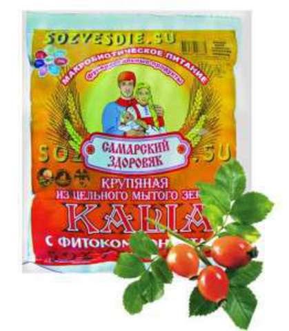 Каша Самарский Здоровяк №54 Пшенично-овсяная с шиповником и тыквой