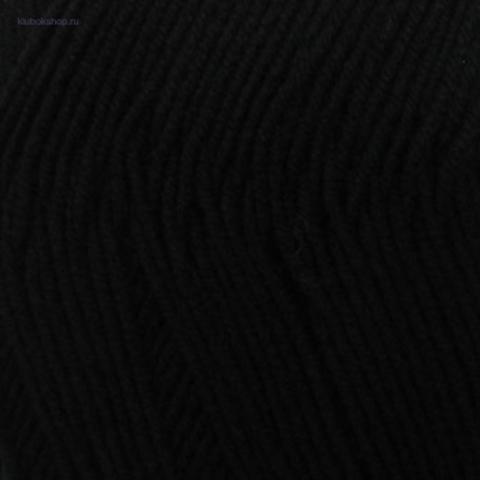 Детская объемная 02 Черный Пехорка - купить пряжу