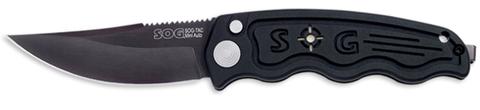 Купить Складной нож SOG Мод. SOG-TAC MINI AUTOMATIC BLACK 97039 по доступной цене