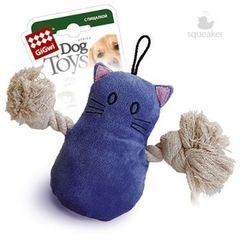 Gigwi кот с пищалкой 15см