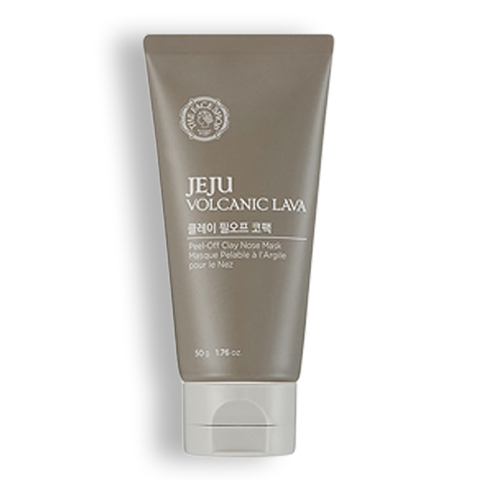 THE FACE SHOP Jeju Volcanic Lava Peel Off Clay Nose Mask, 50 gr
