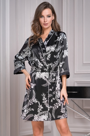 Женский халат Mia-Amore MIRIAM 3483 (70% натуральный шелк)