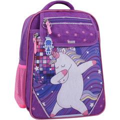 Рюкзак школьный Bagland Отличник 20 л. 339 фиолетовый 503 (0058070)