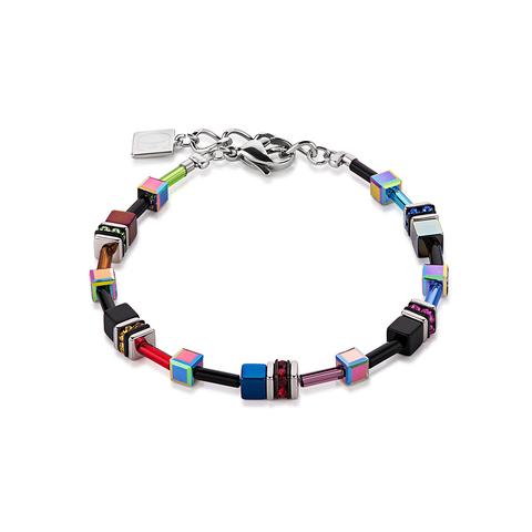 Браслет Coeur de Lion 4838/30-1500 цвет синий, красный, чёрный