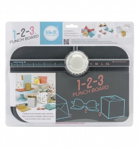 Доска 1-2-3 Punch Board We R Memory Keepers