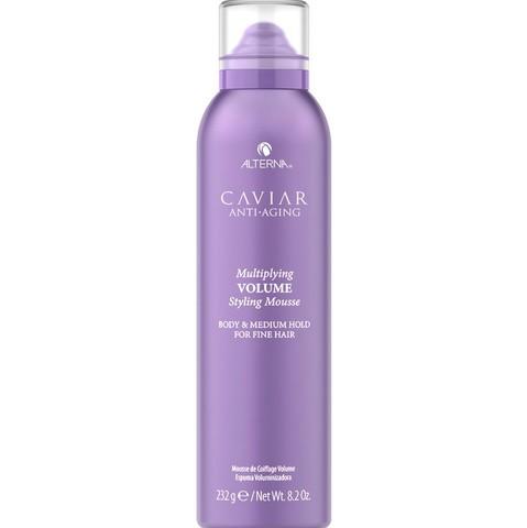 Мусс-лифтинг для придания волосам объема и плотности с кератиновым комплексом Caviar Anti-Aging