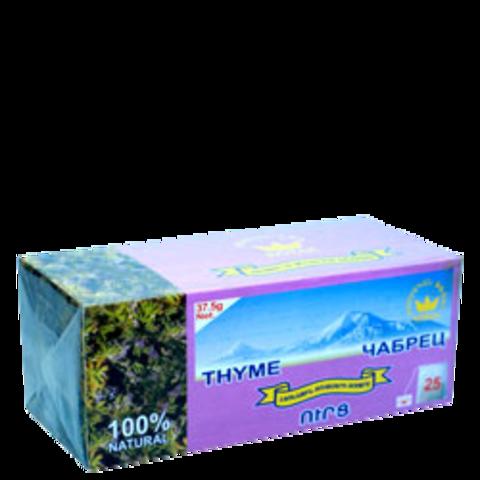 Чай травяной с чабрецом Котак в пакетиках, 25х1,5г