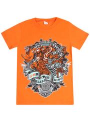 MK003F-33 футболка детская, оранжевая