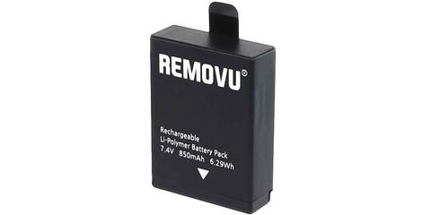 Литий-полимерный аккумулятор для стабилизатора REMOVU S1 вертикальный вид