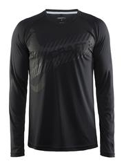 Мужская спортивная рубашкаCraft Craft Gain Training черная