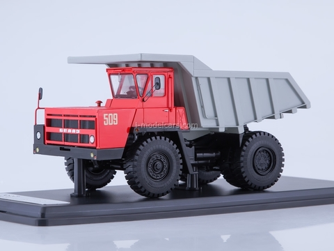 BELAZ-7522 dumper red-gray 1:43 Start Scale Models (SSM)