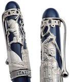 Aurora Torino корпус синий оклад серебро 925пр (AU-875/IT)