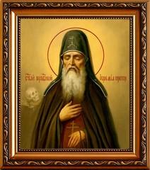 Иеремия Печерский, Прозорливый, Преподобный. Икона на холсте.