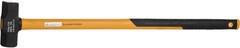 Кувалда JCB кованная, двухкомпонентная фиберглассовая рукоятка, 3000г