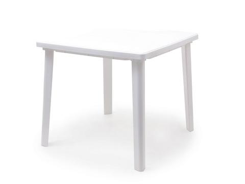 Стол квадратный. Цвет: Белый