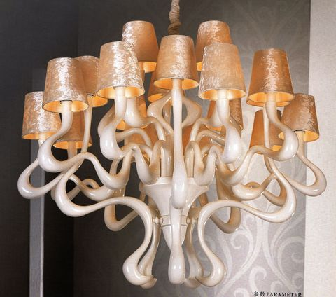 replica chandelier  Ode 1647  by Jacco Maris ( 24 shades  )