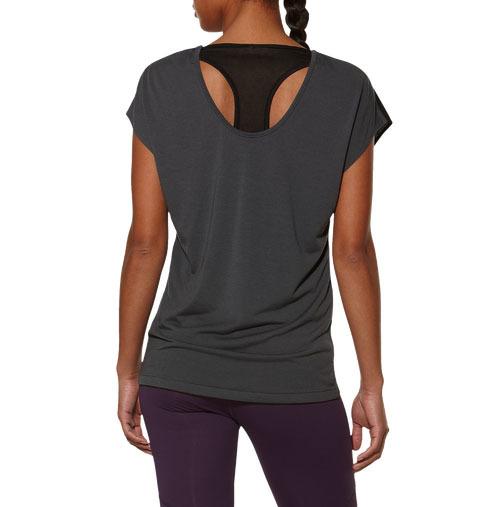 Женская спортивная футболка асикс Reversible SS Top (125862 0779)