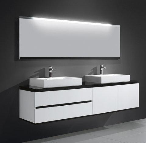 Мебель для ванной Orans BC-6023-1800 180x52см. с двойной раковиной