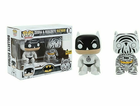 Bullseye Batman & Zebra Batman (2-Pack) || Зебра и Булсай Бэтмен