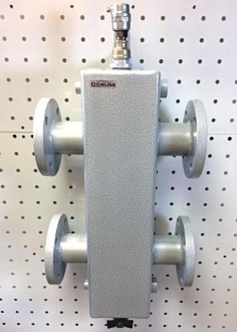 Гидравлический разделитель GR-400-65 (Pmax=400 кВт, фланец Ду-65, Qmax=17 м3/ч) + напольная подставка