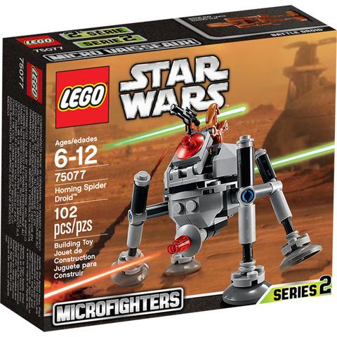 LEGO Star Wars: Самонаводящийся дроид-паук 75077 — Homing Spider Droid Microfighter — Лего Звездные войны Стар Ворз