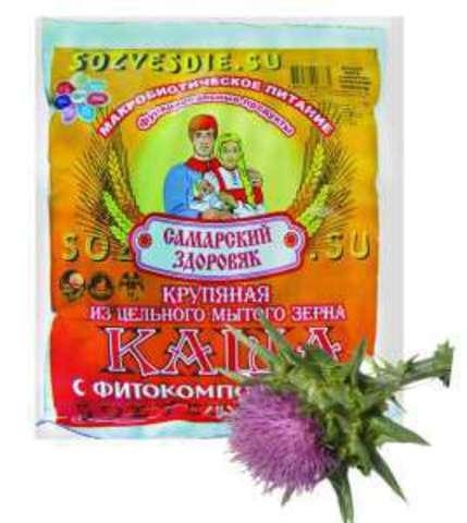 Каша Самарский Здоровяк №51 Пшенично-пшенная