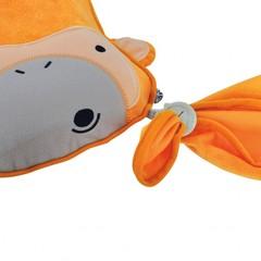 SNOOZIHEDZ плед подушка оранжевый