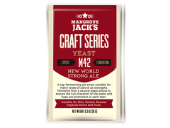 Дрожжи Mangrove Jack's Craft New World Strong Ale M42