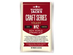 Дрожжи Mangrove Jack's Craft New World Strong Ale M42