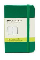 Moleskine Grass Green XS Plain Notebook