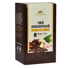 Чай имбирный, Алтай Флора, с гвоздикой, фильтр-пакет, 20 шт*1,5 г.