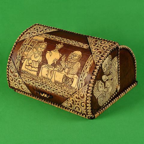 Хлебница шлем Чаепитие 4