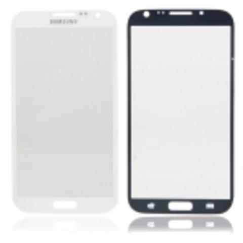 Стекло для Samsung GALAXY Note 2, черное/белое/розовое/серое