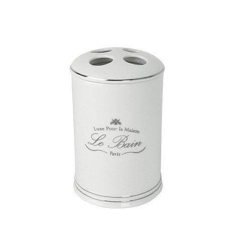 Стакан для зубных щеток Kassatex Le Bain White