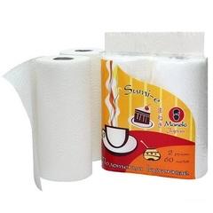 Полотенца кухонные бумажные, MANEKI, Sumi-e, белые, в ассорт.