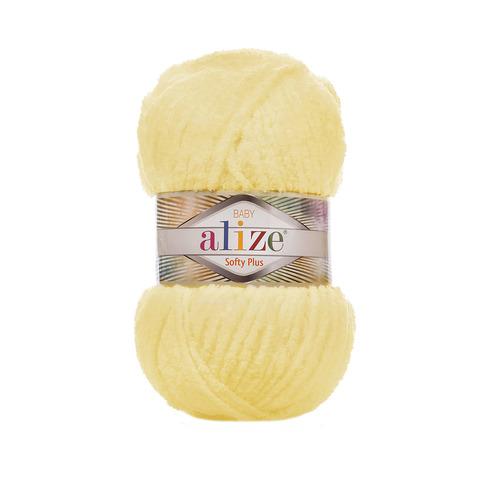 Купить Пряжа Alize Softy Plus Цвет 13 Желтый | Интернет-магазин пряжи «Пряха»