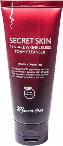 Пенка антивозрастная Syn-Ake Wrinkleless Foam Cleanser от Secret Skin
